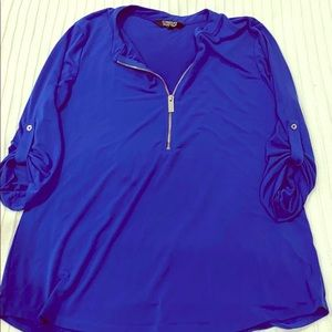 Women's 1/4 zip up top